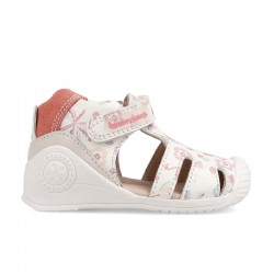 Leather sandals for baby girl Margarita