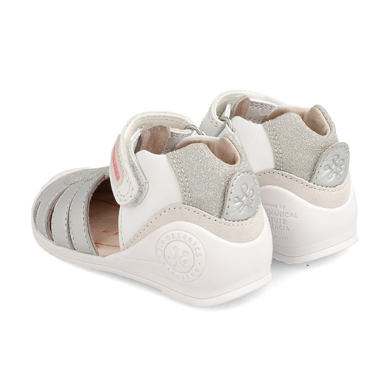 Leather sandals for baby girl Scarlett
