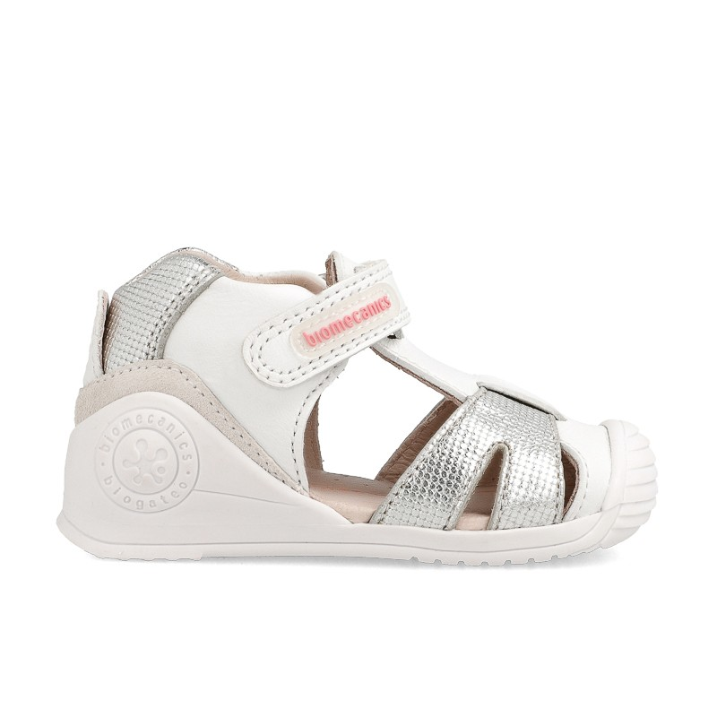 Leather sandals for baby girl Adelina