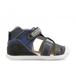 Leather sandals for baby boy Elio