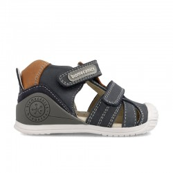 Leather sandals for baby boy Ferrán