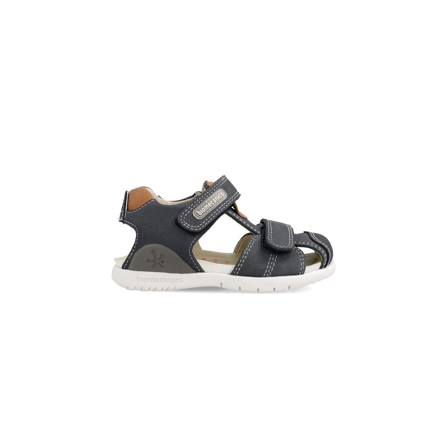 Leather sandals for boy Kiko