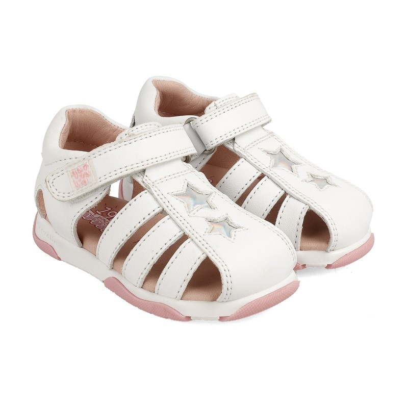 Leather sandals for baby girl Icíar