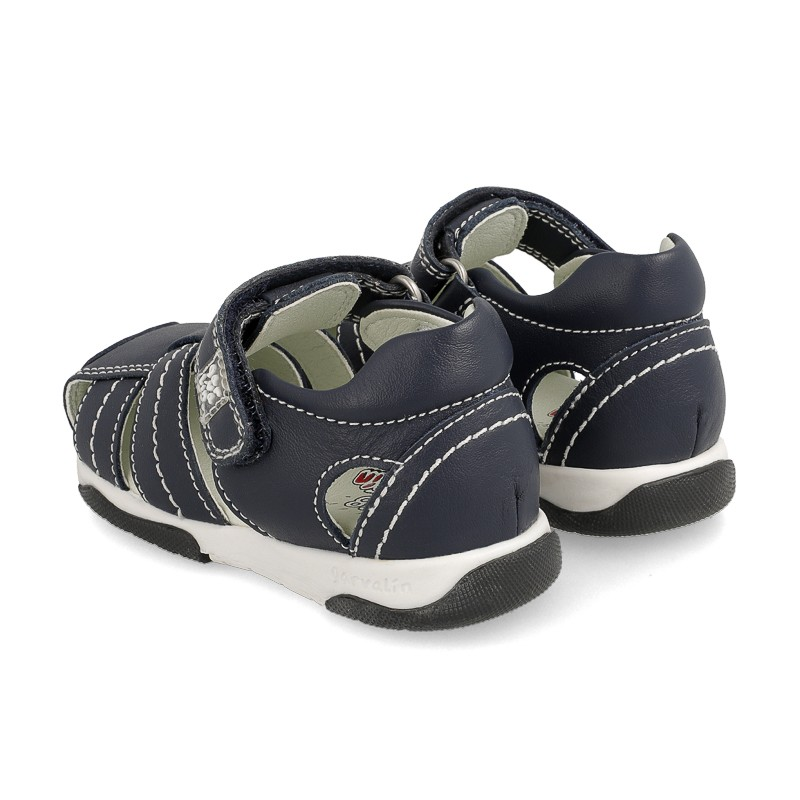 Leather sandals for baby boy Artur