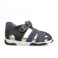 Leather sandals for baby boy Amil
