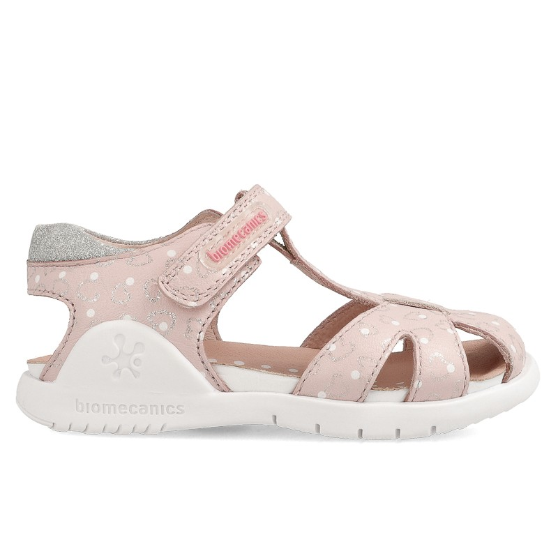 Leather sandals for girl Andrea
