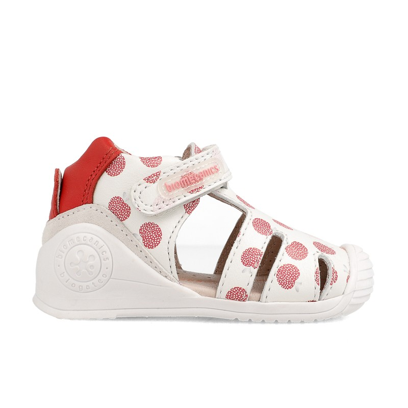 Leather sandals for baby girl Elora