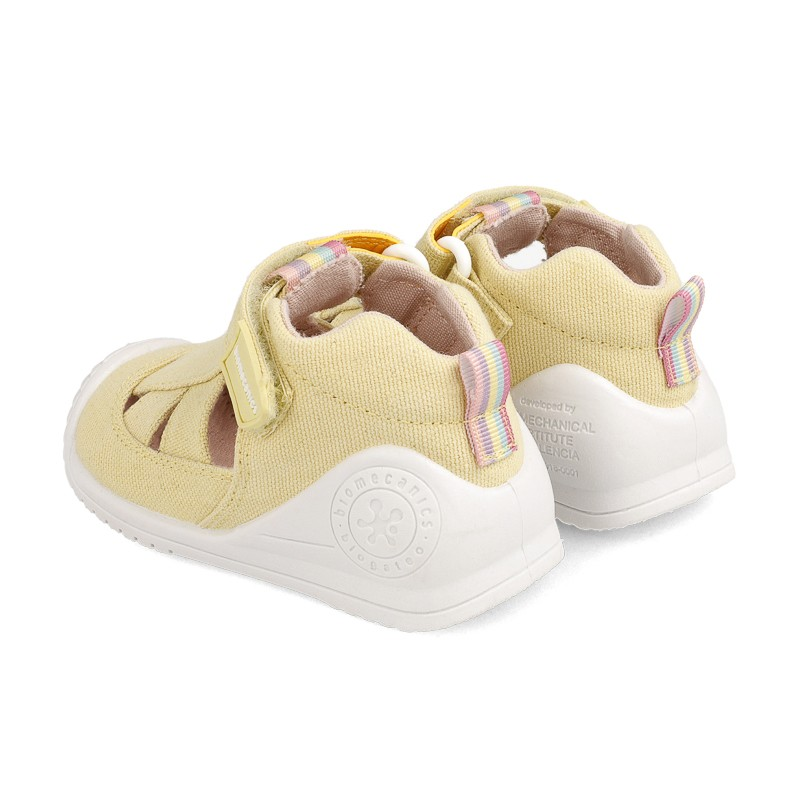 Canvas sneakers for baby Brianna