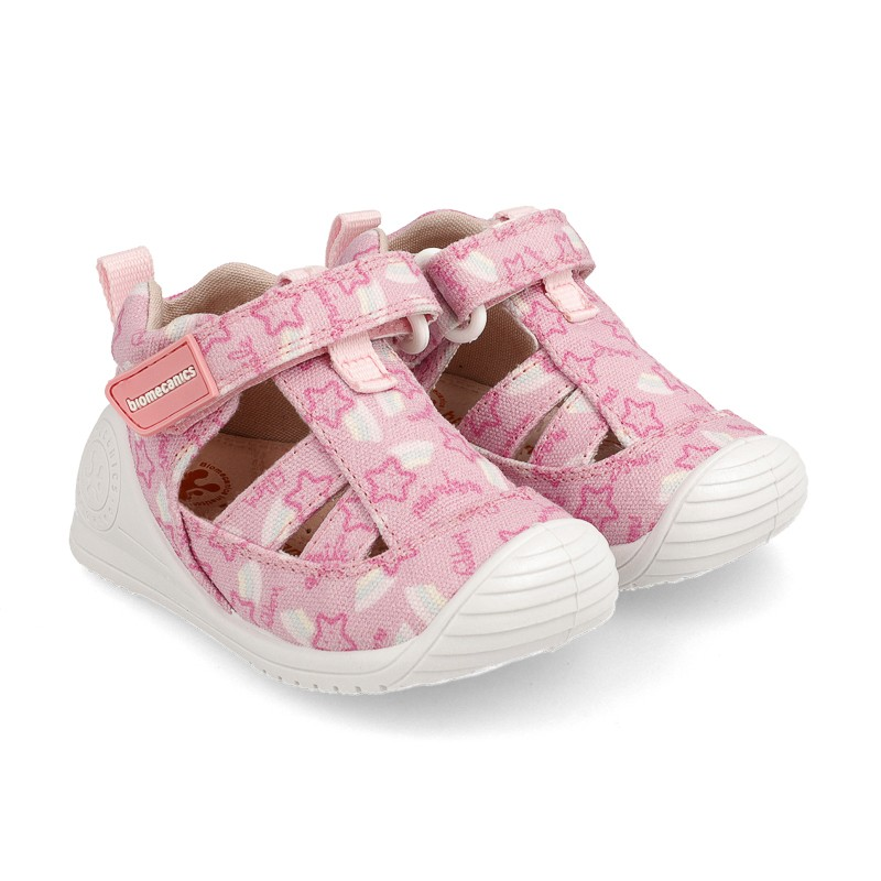 Canvas sneakers for baby Farah