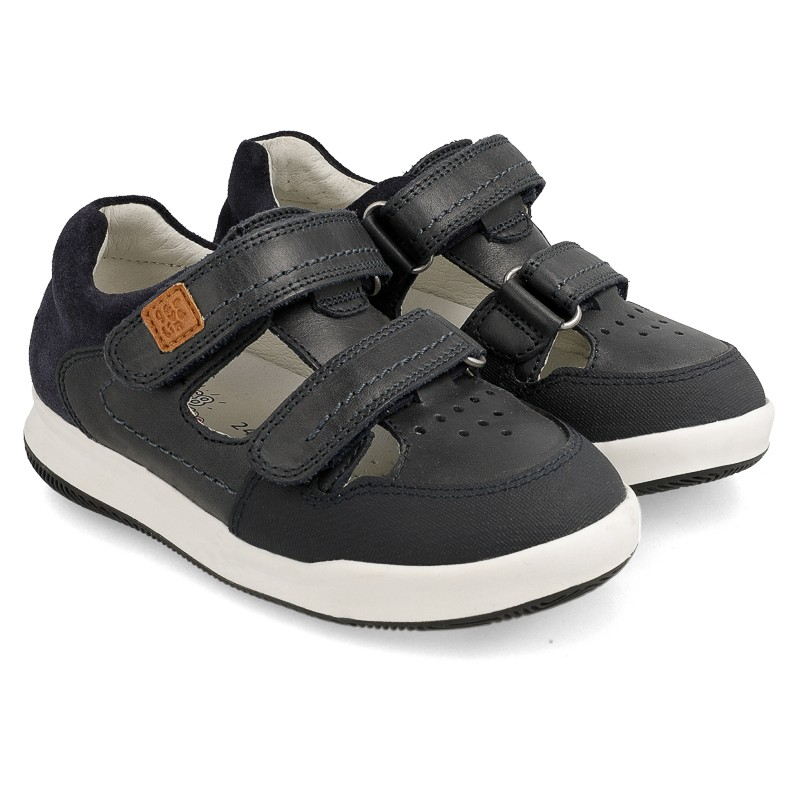 Leather shoes for boy Gerard