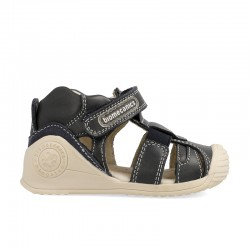Leather sandals for baby boy Giamo