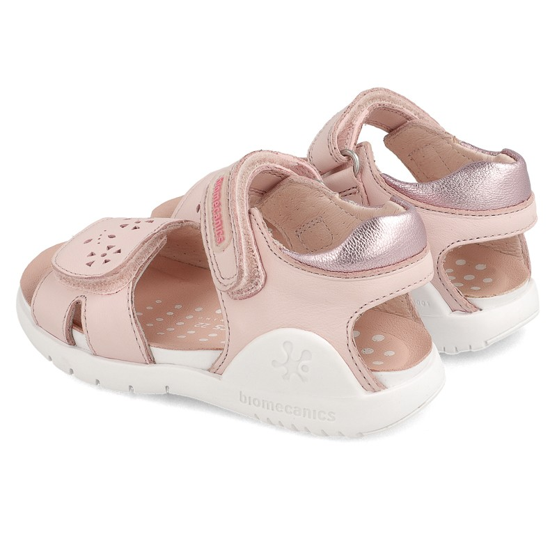 Leather sandals for girl Ayla
