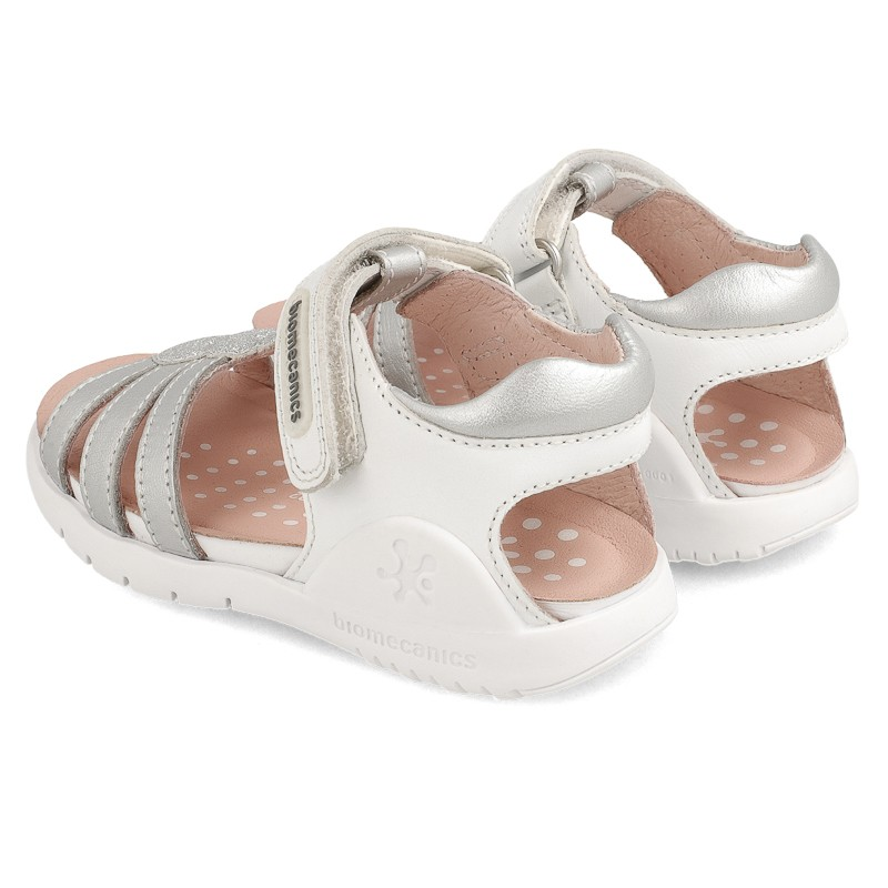 Leather sandals for girl Berta