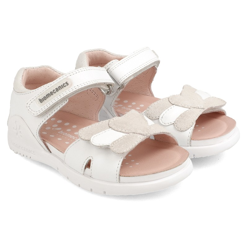 Leather sandals for girl Damara