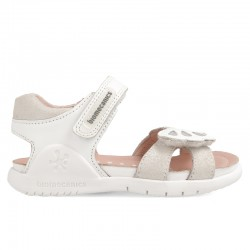 Leather sandals for girl Darissa