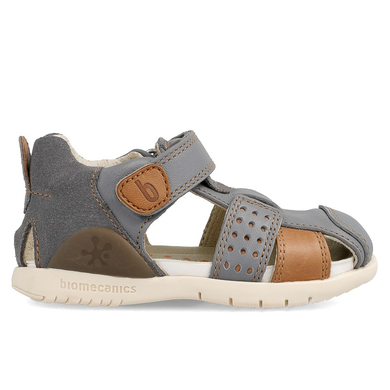 Leather sandals for boy Nahuel