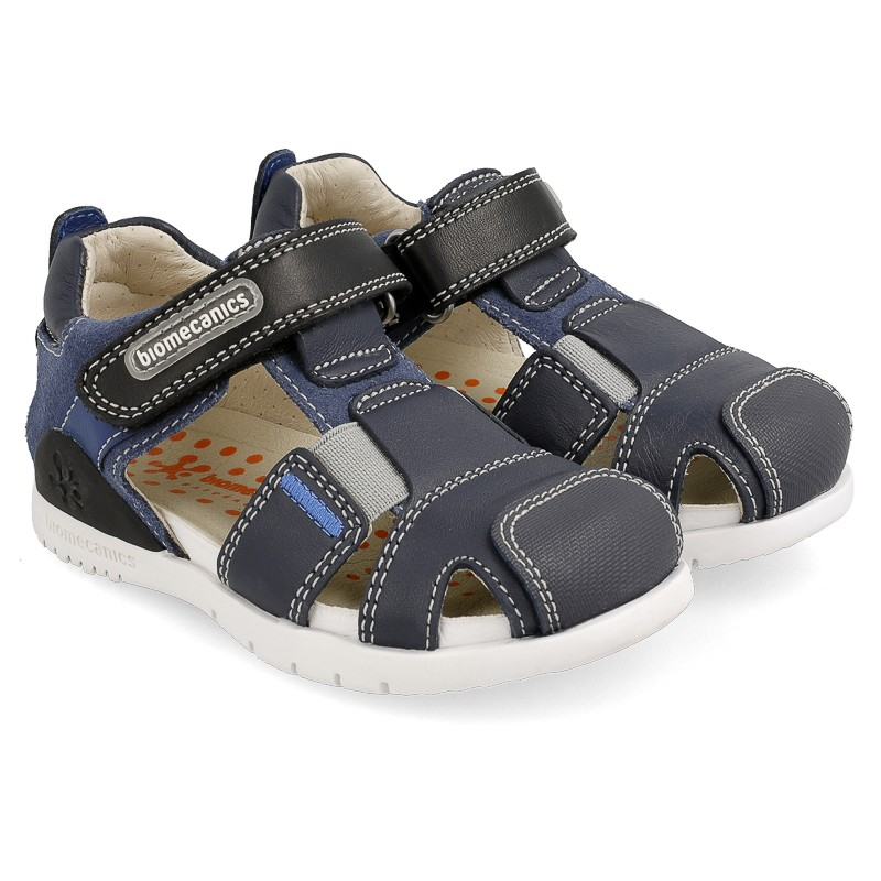 Leather sandals for boy Rodri