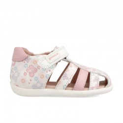 Leather sandals for baby girl Dakota