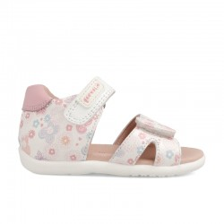 Leather sandals for baby girl Blossom