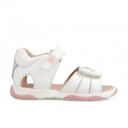 Leather sandals for baby girl Brunella
