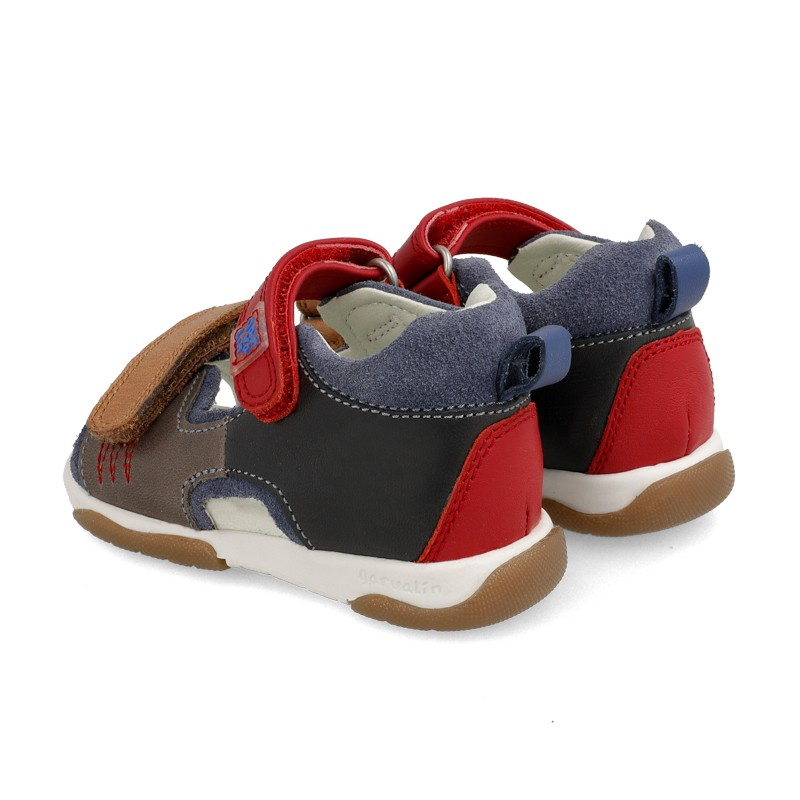 Leather sandals for baby boy Jairo