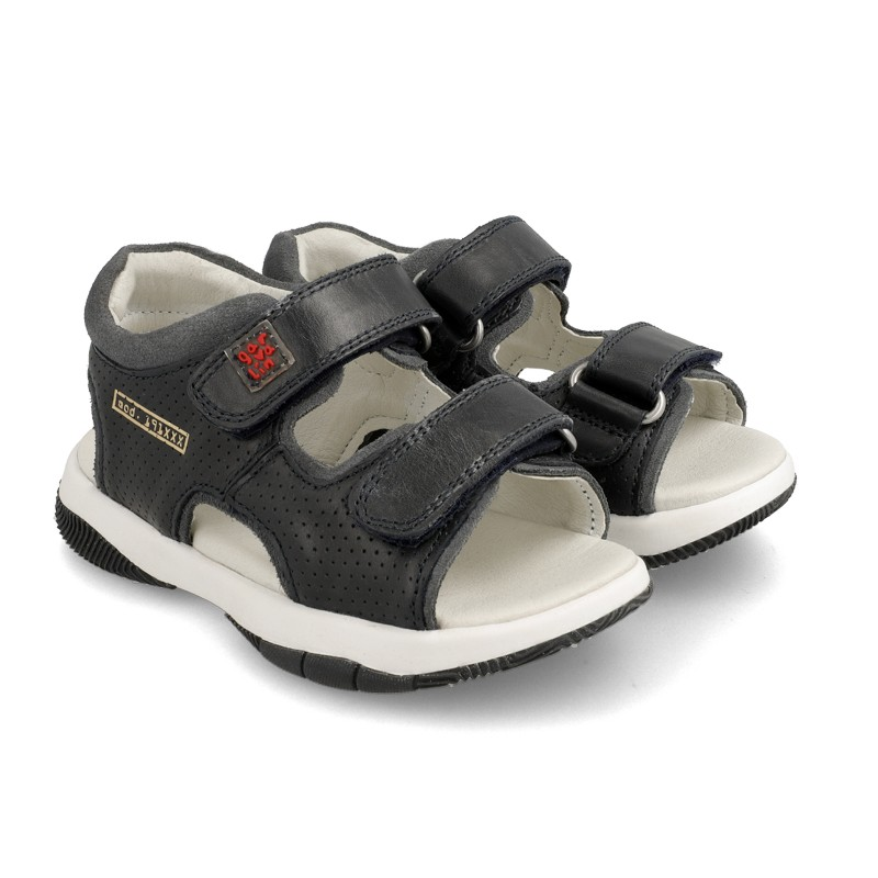 Leather sandals for boy Erik