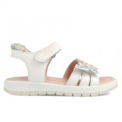 Leather sandals for girl Leandra