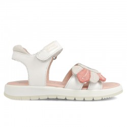 Leather sandals for girl Serena