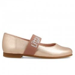 Leather shoes for girl Daria