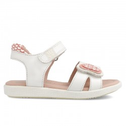 Leather sandals for girl Ayesha