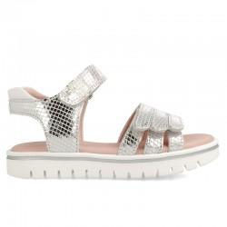 Leather sandals for girl Cala