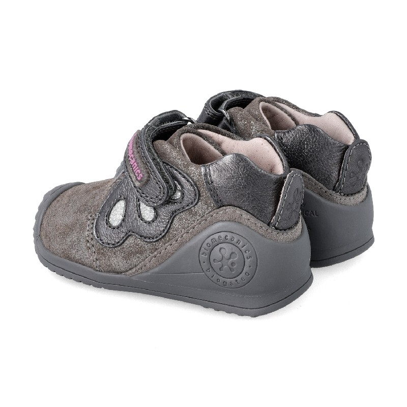 Leather ankle boot for baby Danica