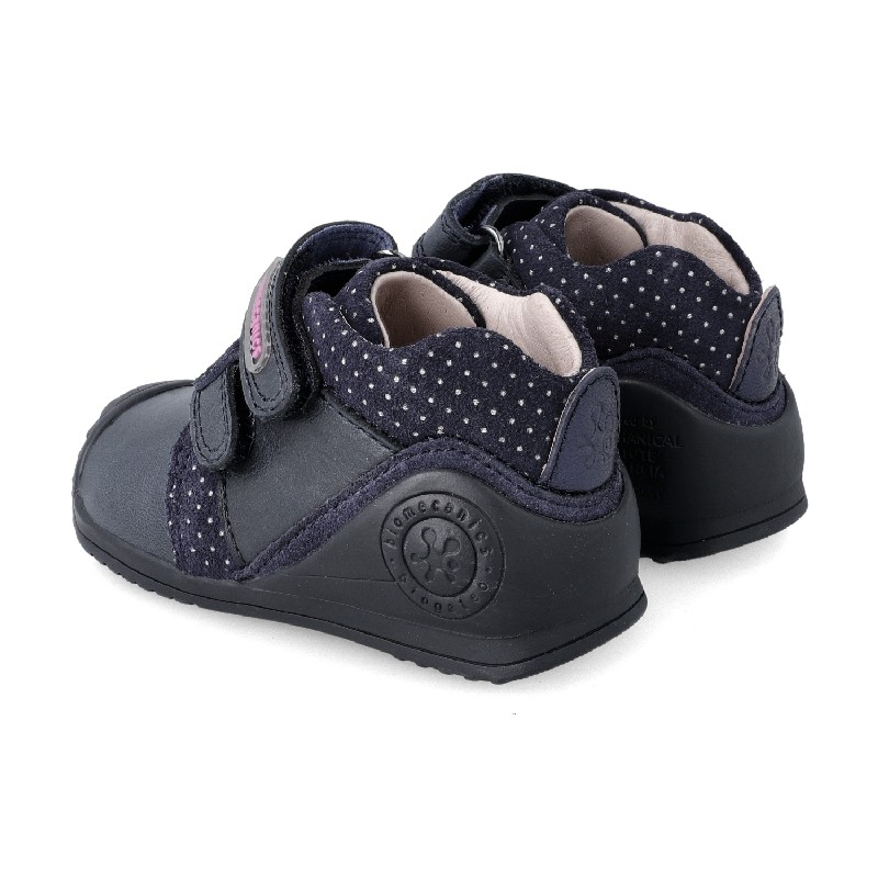 Leather ankle boot for baby Damaris