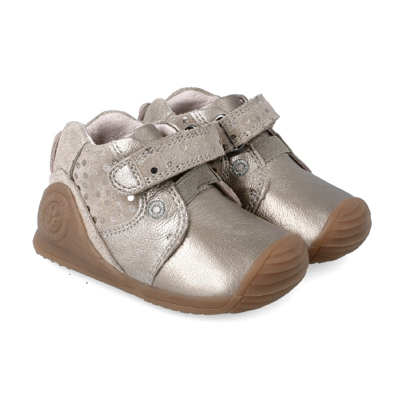 Leather ankle boot for baby Dasia