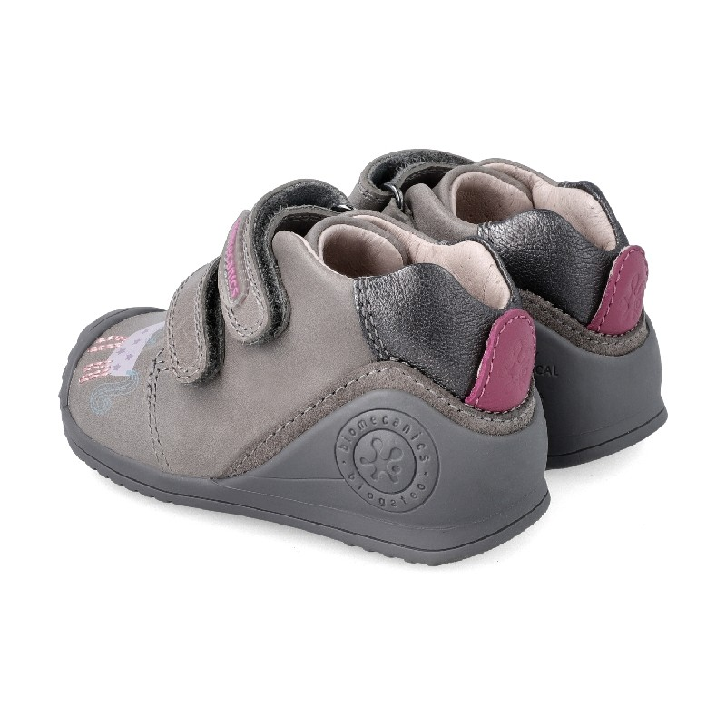 Leather ankle boot for baby Galenka