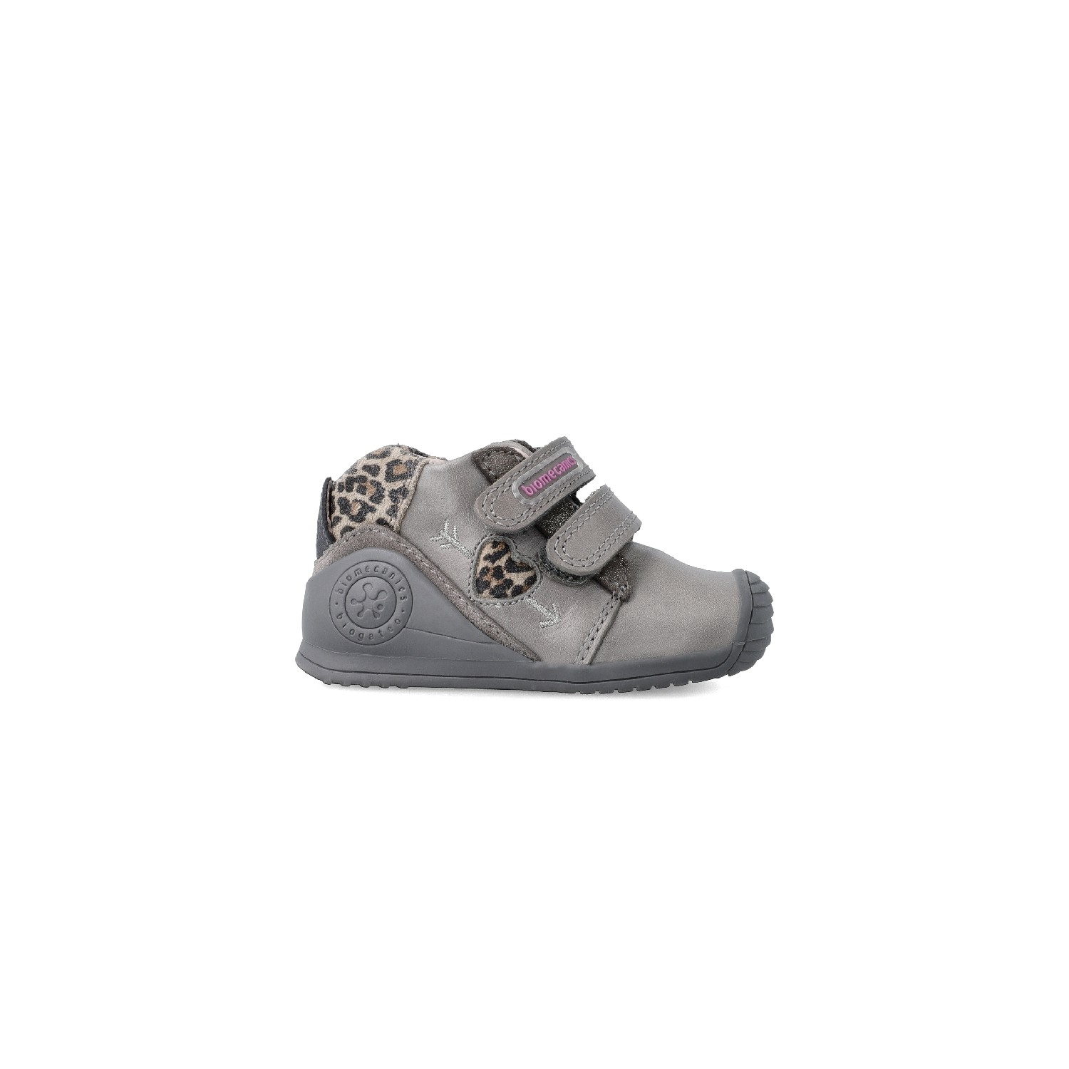 Leather ankle boot for baby Alisia