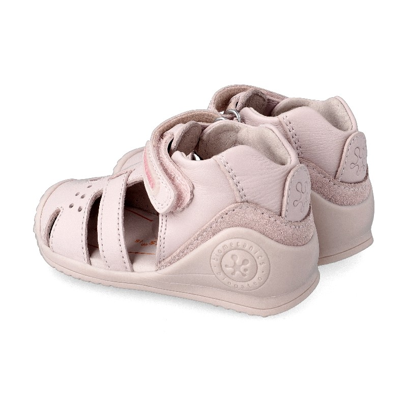 Leather sandals for girl Caty