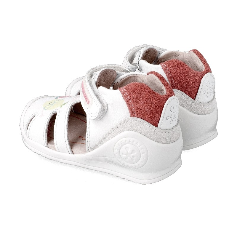 Leather sandals for girl Grace