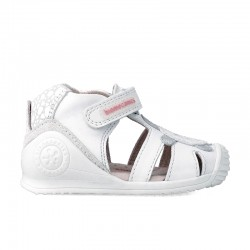 Leather sandals for girl Jade