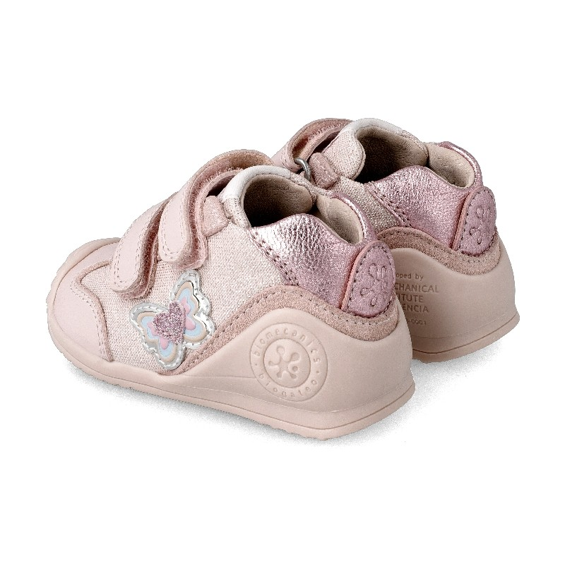 Leather trainers for baby Atalía