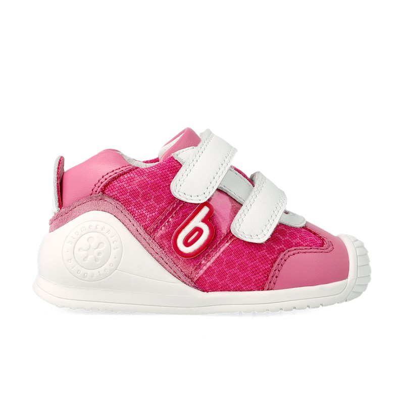 Leather trainers for baby Hulda