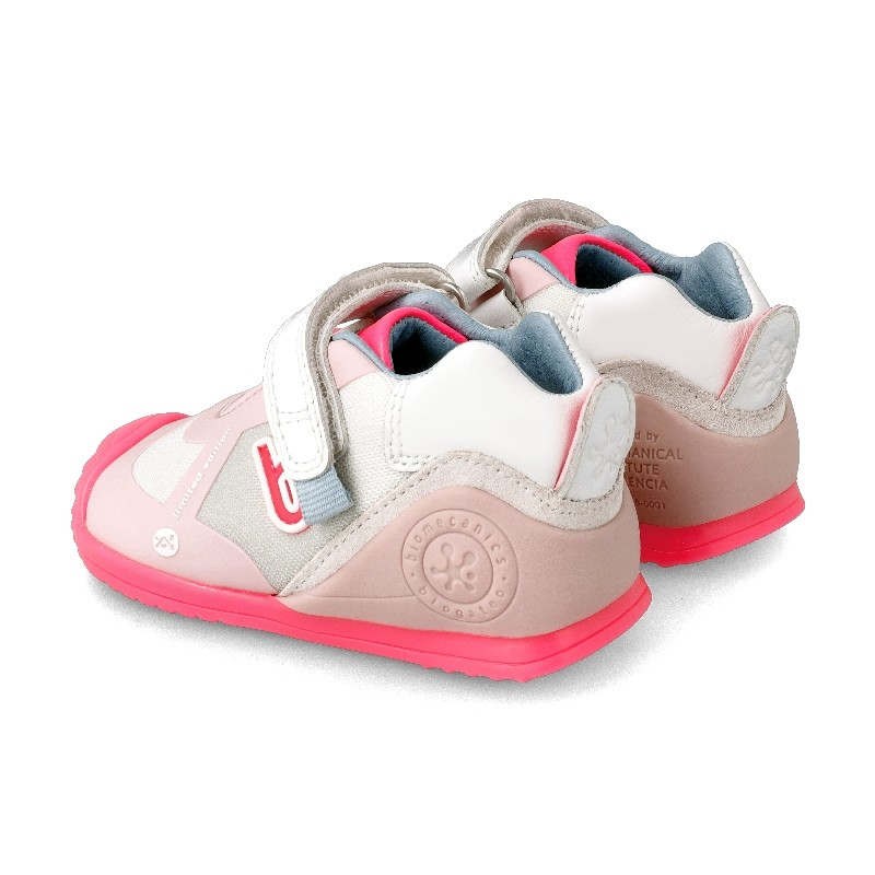 Leather trainers for baby Hanna