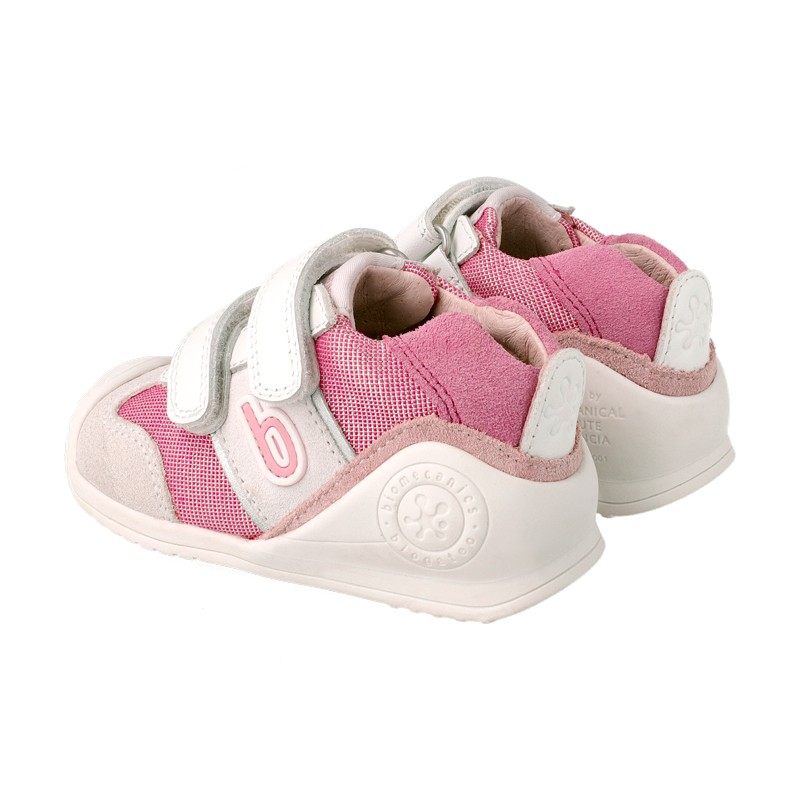 Leather trainers for baby Dalila