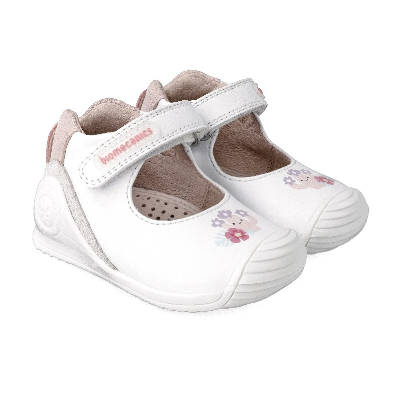 Leather shoes for baby girl Bonnie