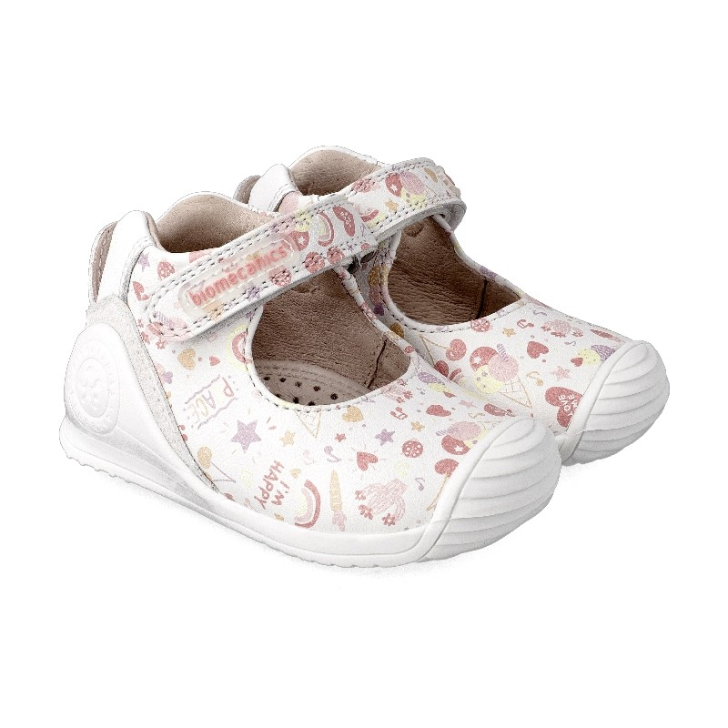 Leather shoes for baby girl Candy