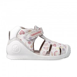 Leather sandals for girl Esme