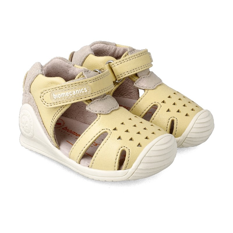 Leather sandals for girl Penny