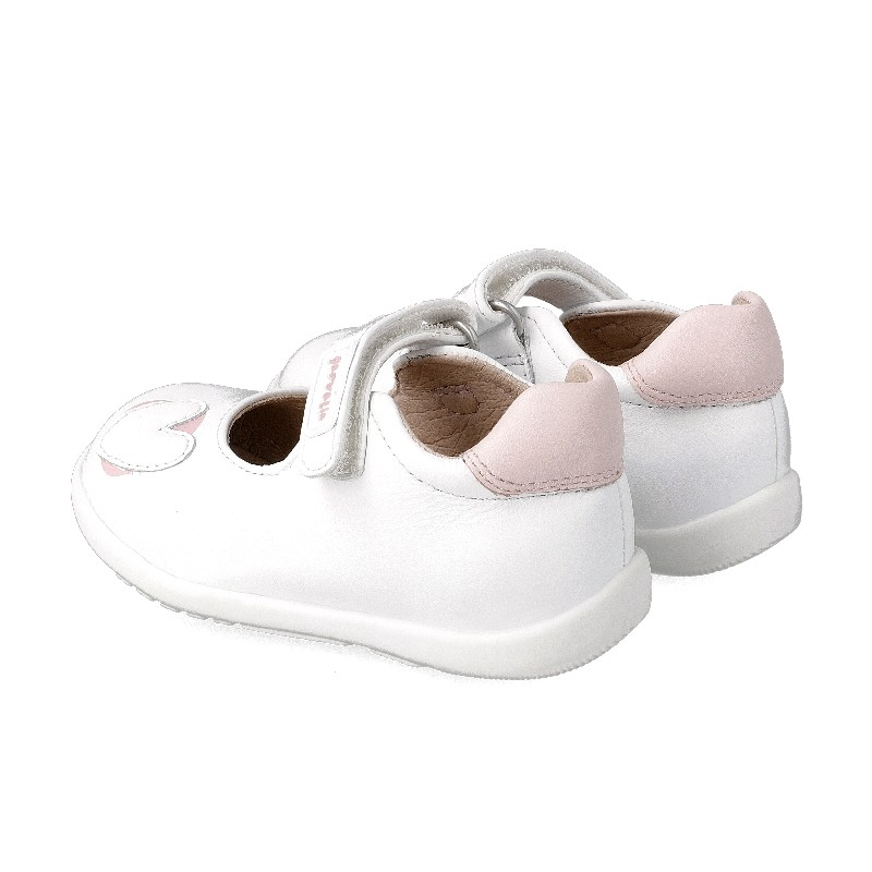 Leather shoes for baby girl Nereida