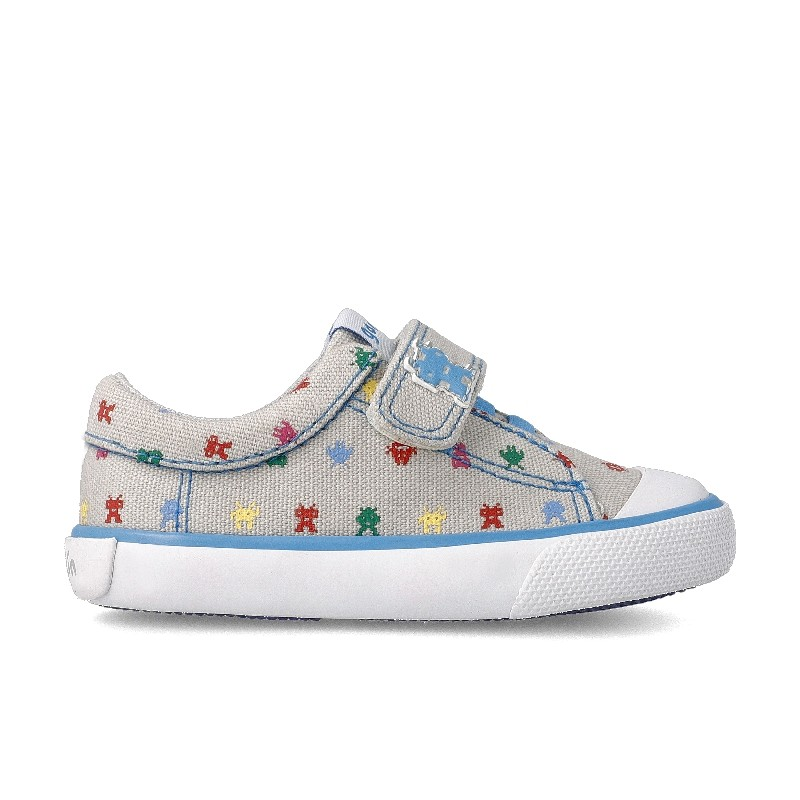 Canvas sneakers for boy Corisco