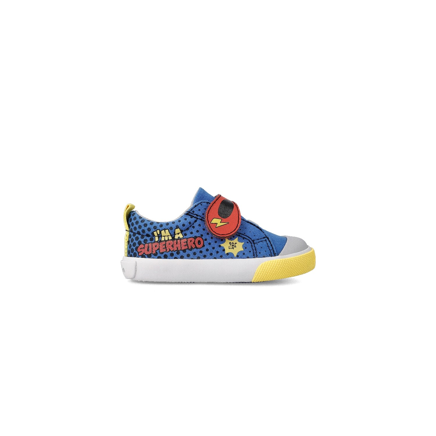 Canvas sneakers for boy SuperBoy